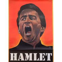Load image into Gallery viewer, Original Hamlet Stage Theatre Play Poster 1975