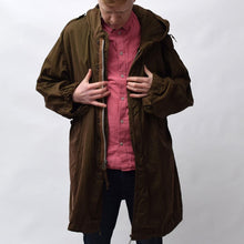 Load image into Gallery viewer, Vintage Brown Parker Coat