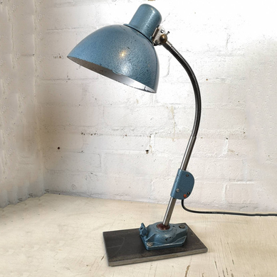 Vintage 1960s East German Industrial Task Lamp By Zweckleuchtenbau