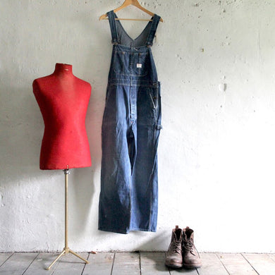 1950s Vintage Big Mac Label Dungarees - Large