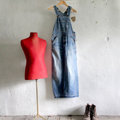 1960s Vintage Union Made Lee Denim Dungarees - Medium/Large