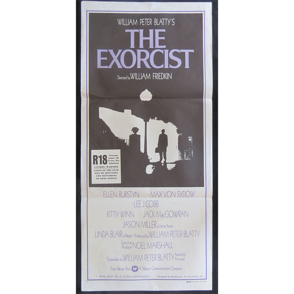1973 Film Poster - Exorcist