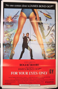 1981 James Bond: For Your Eyes Only Film Poster