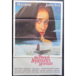 1981 The French Lieutenant's Woman Film Poster