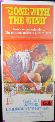 1981 Gone With The Wind Film Poster