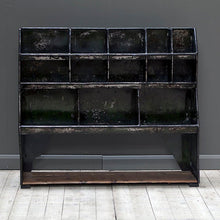 Load image into Gallery viewer, Vintage Industrial Pigeon Hole Shelving or Storage Unit