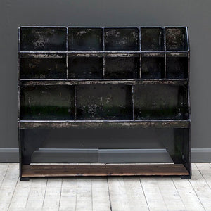 Vintage Industrial Pigeon Hole Shelving or Storage Unit