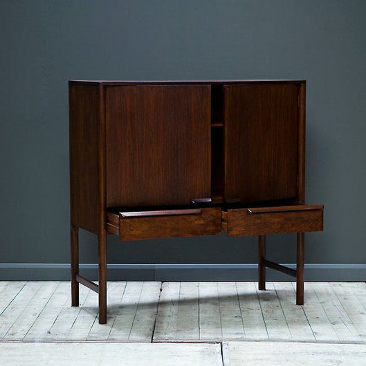 Vintage Rosewood Drinks Cabinet by McIntosh of Kirkcaldy Circa 1960s