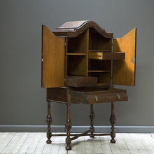 Load image into Gallery viewer, Oak Cocktail Cabinet Early 1900s