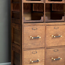 Load image into Gallery viewer, Large Vintage Haberdashery Cabinet