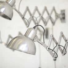 Load image into Gallery viewer, Model 6718 Kaiser Idell Scissor Lamps Circa 1940s