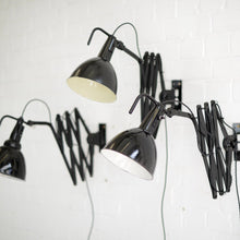 Load image into Gallery viewer, Modernist Scissor Lamps by Wilhelm Bader Circa 1930s