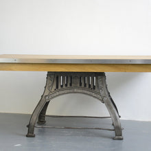 Load image into Gallery viewer, English Industrial Table By Bamfords Circa 1910