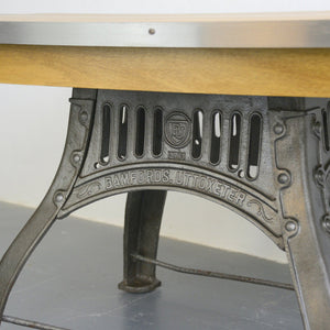 English Industrial Table By Bamfords Circa 1910