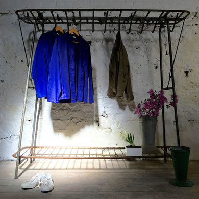 Vintage Military Clothes Rack