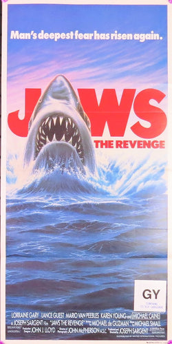 1987 Jaws the Revenge Film Poster