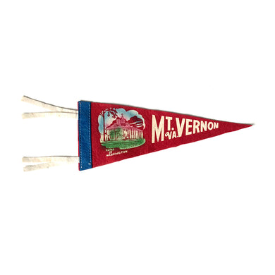 Small Vintage Pennant - Mount Vernon