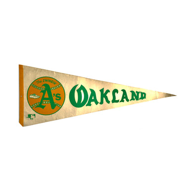 Vintage Pennant - Oakland A's