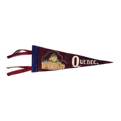 Small Vintage Pennant - Quebec