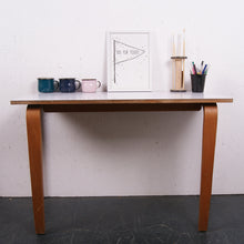 Load image into Gallery viewer, Children's Esavian table with formica top and curved wooden legs