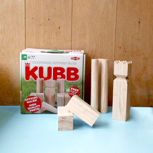 Swedish Kubb Game