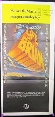 1979 Monty Python's Life of Brian Film Poster