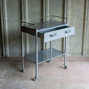 Vintage Medical Trolley by Vicarey Davidson & Co