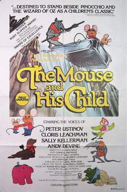 1977 The Mouse and his Child Film Poster