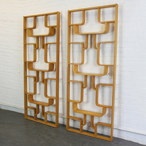 Mid Century Room Divider Shelves By Ludvik Volak Circa 1960s