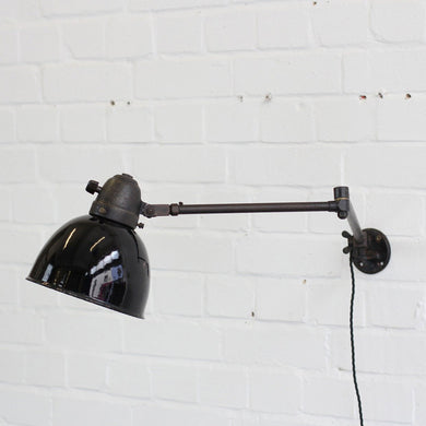 Swing Out Modernist Industrial Lamp By Peter Pfisterer
