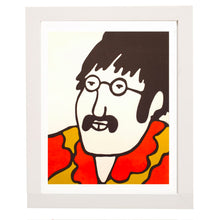 Load image into Gallery viewer, Vintage John Lennon - Beatles Print