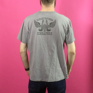 Harley Davidson Vintage T Shirt - Medium - Singapore
