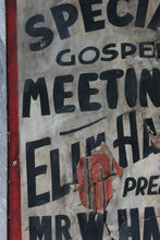 Load image into Gallery viewer, 1930s Religious Street Placard