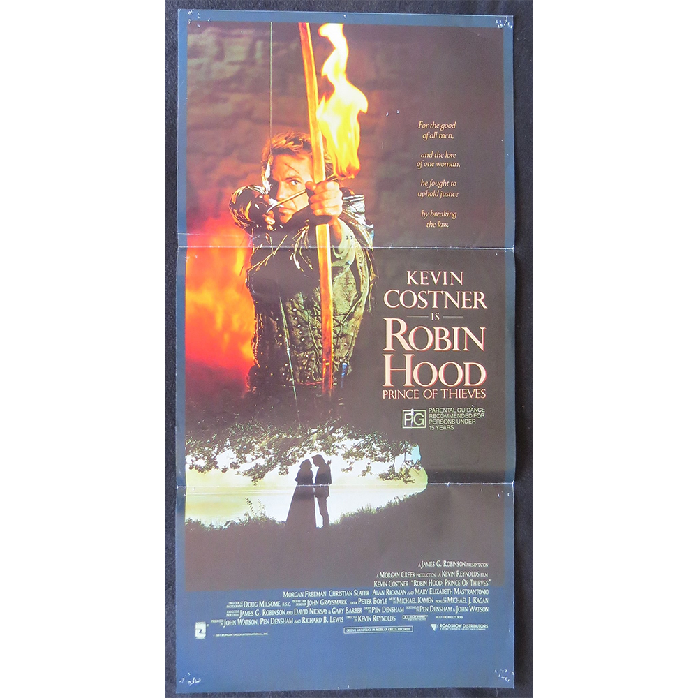 1991 Film Poster - Robin Hood: Prince of Thieves