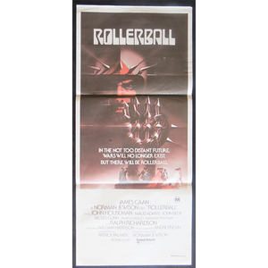 1975 Film Poster - Rollerball
