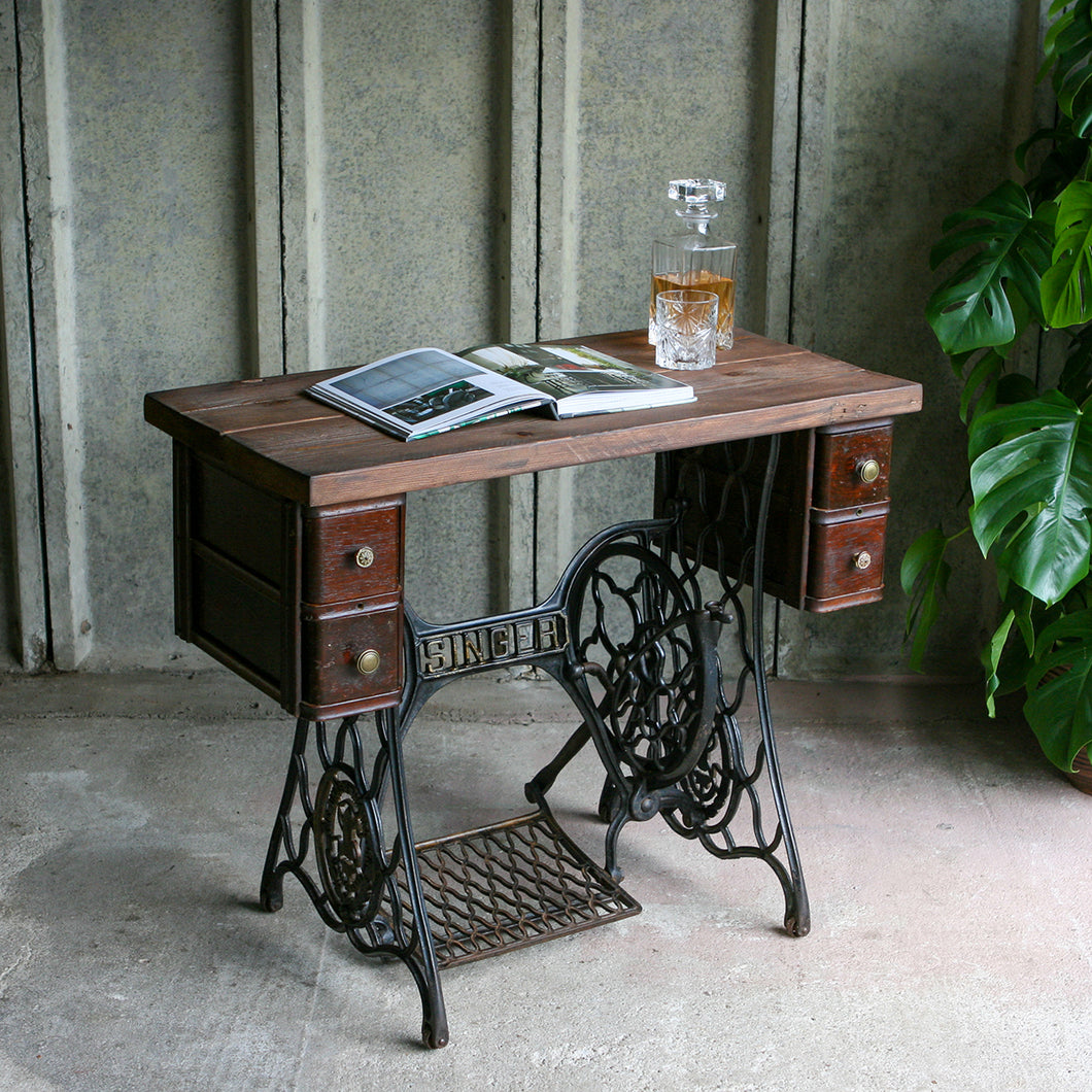 'Singer' Sewing Console Table