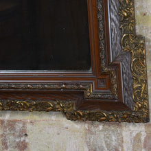 Load image into Gallery viewer, Antique Mirror Gilt Square Bevelled Glass Original Decorative