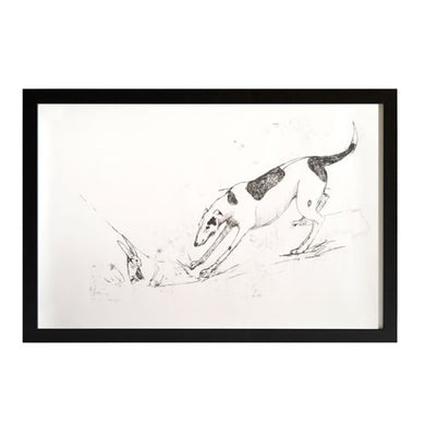 Lurcher Print Limited Edition - Tanya Brett