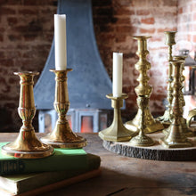 Load image into Gallery viewer, Pair of Antique Georgian Oval Cast Urn Candlesticks Holder