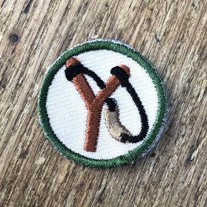 Embroidered Slingshot Patch