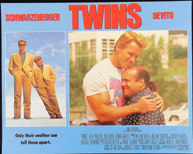 1988 Twins Film Poster
