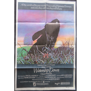1978 Watership Down Film Poster