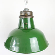 Load image into Gallery viewer, Large Vintage Industrial Factory Light by Wardle
