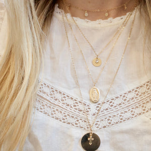 How To Effortlessly Layer Necklaces
