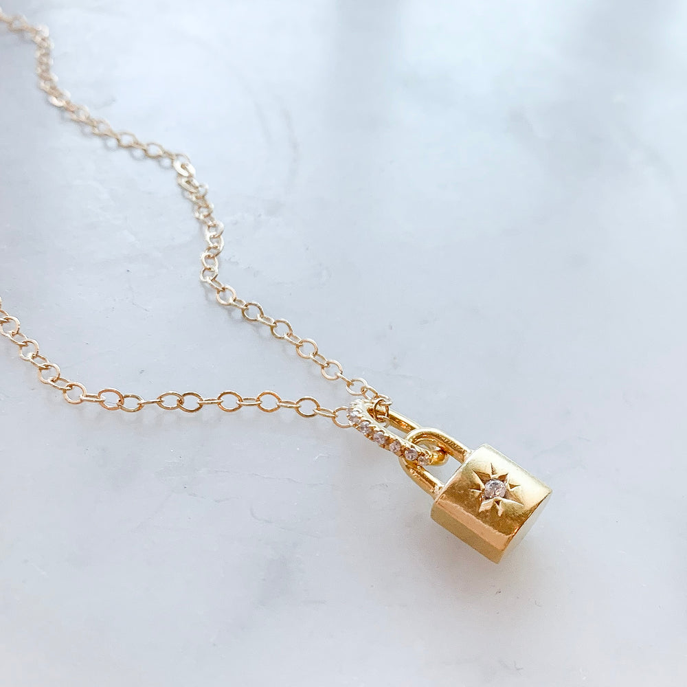 Supernova Lock Necklace - xohanalei