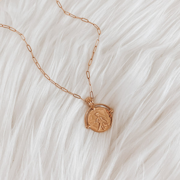 Warrior Coin Necklace - xohanalei