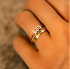 9k Solid Gold Twist Band