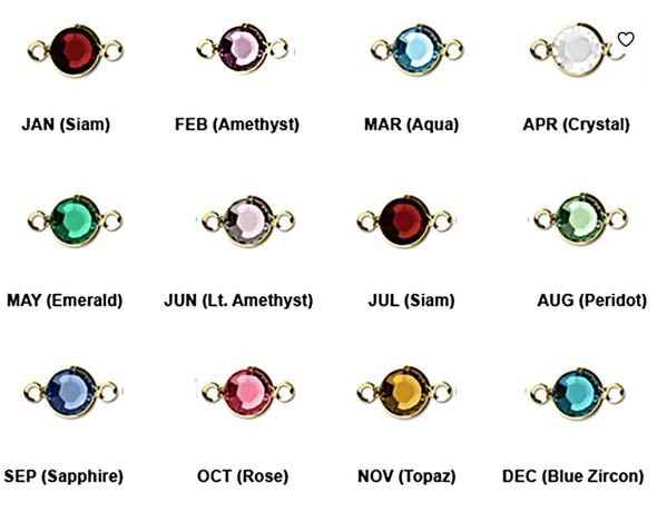 14k Gold Filled Birthstone Ring