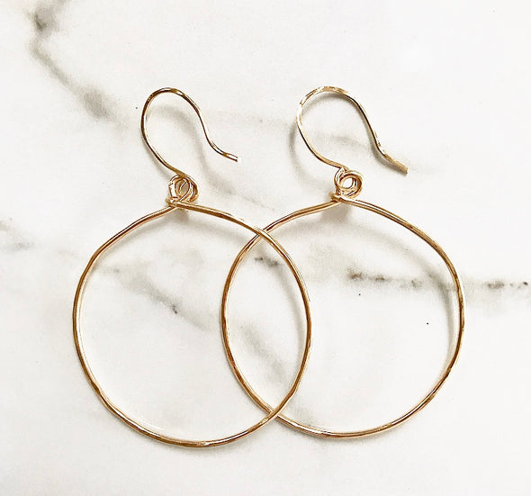 Oversized Hoops - xohanalei
