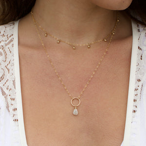 Keshi Drop Necklace - xohanalei